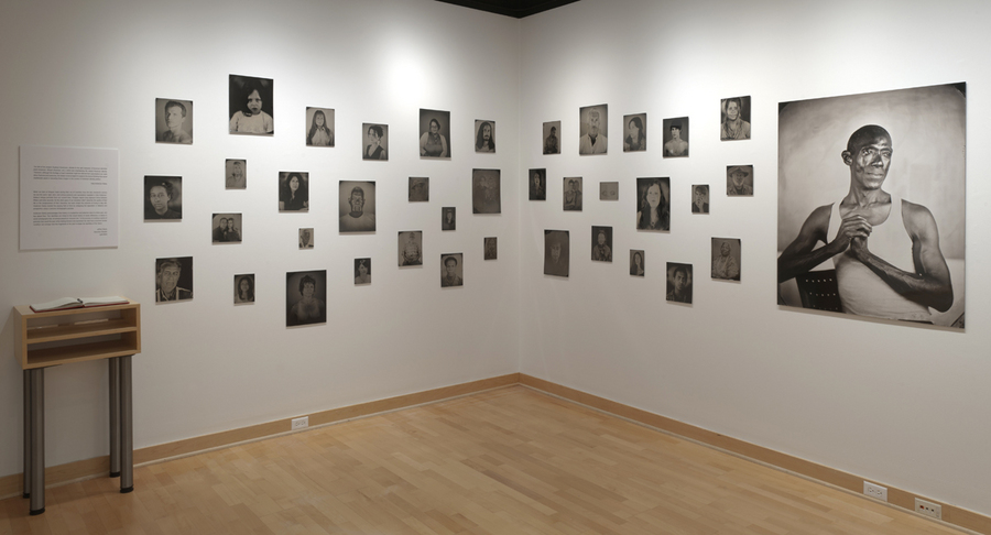 [Hyphen]-Americans, installation view, Palitz Gallery, New York, NY, 2011