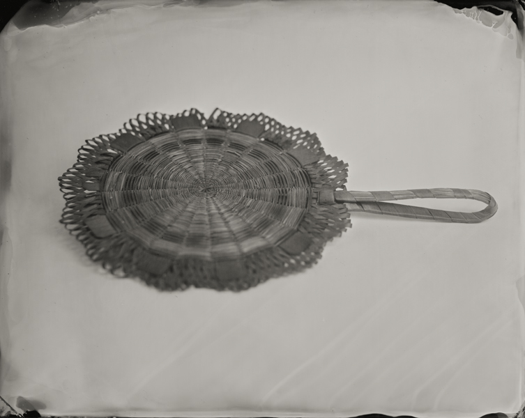 """Seagrass Fan."" From Objects of Uncertain Provenance: Found in Winslow Homer's Studio. 8x10"" tintype. 2012."